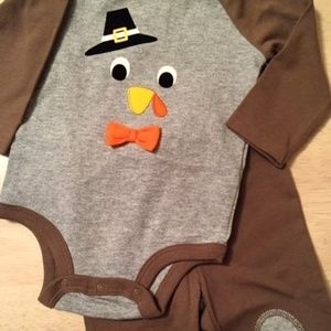 Thanksgiving Onesie and Pants